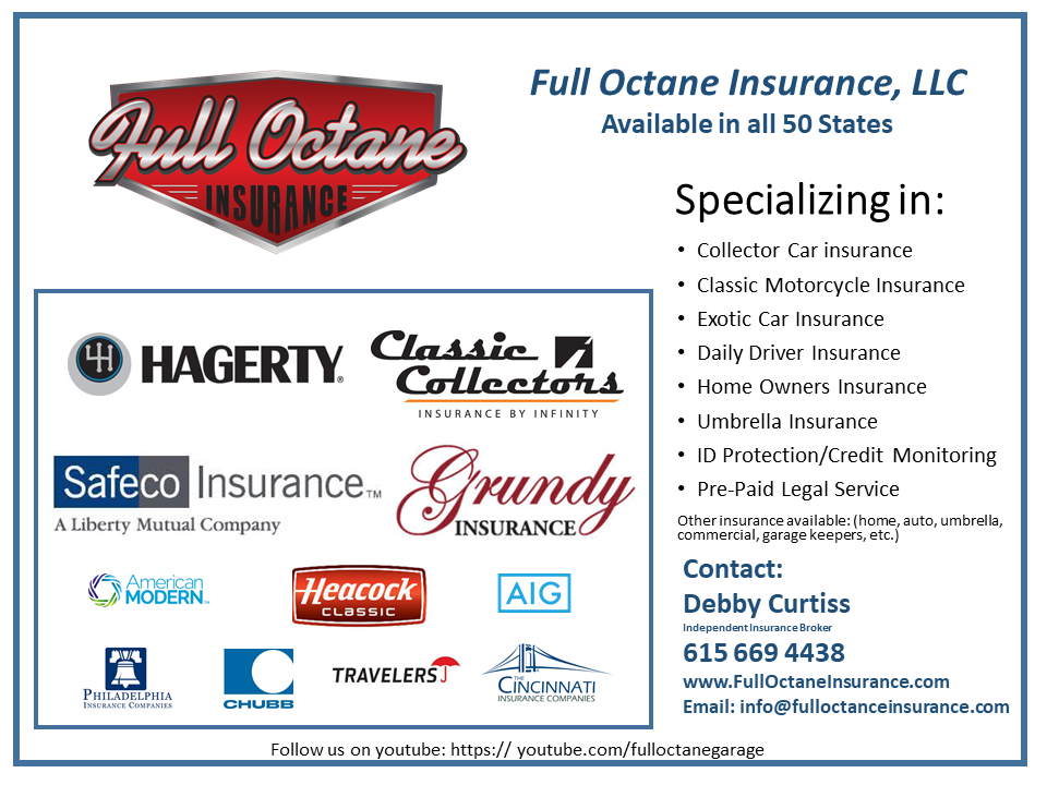 Full Octane Insurance Insurance For Your Classic Or Collector Car - Show car insurance companies